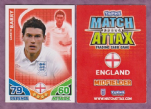 England Gareth Barry Manchester City 68